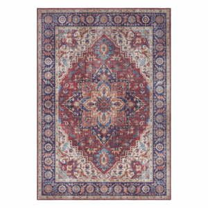 Červeno-fialový koberec Nouristan Anthea, 120 x 160 cm