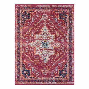 Červený koberec Nouristan Azrow, 80 x 150 cm
