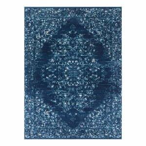 Tmavomodrý koberec Nouristan Pandeh, 80 x 150 cm