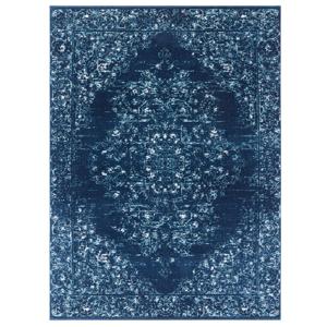 Tmavomodrý koberec Nouristan Pandeh, 120 x 170 cm
