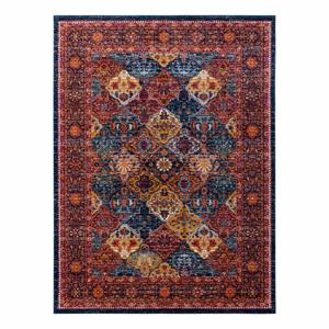 Červený koberec Nouristan Kolal, 200 x 290 cm