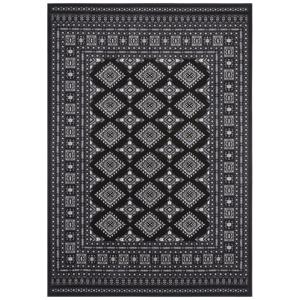 Čierny koberec Nouristan Sao Buchara, 120 x 170 cm