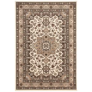 Béžový koberec Nouristan Parun Tabriz, 80 x 150 cm