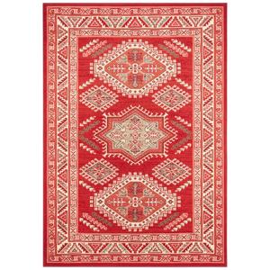 Červený koberec Nouristan Saricha Belutsch, 160 x 230 cm