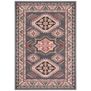 Sivý koberec Nouristan Saricha Belutsch, 80 x 150 cm
