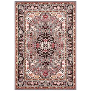 Sivo-hnedý koberec Nouristan Skazar Isfahan, 200 x 290 cm