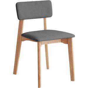 Kancelárská stolička s tmavosivým textilným čalúnením, DEEP Furniture Max