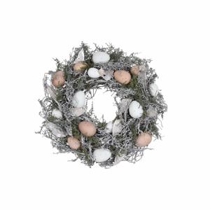 Veľkonočný dekoratívny veniec Ego Dekor Feathers and Moss ⌀ 35 cm