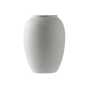 Krémovobiela kameninová váza Bitz Basics Matte Cream, výška 20 cm