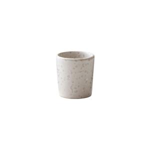 Krémovobiely kameninový kalíšok na vajíčko Bitz Basics Matte Cream
