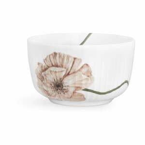 Biela porcelánová miska Kähler Design Hammershøi Poppy, ø 12 cm