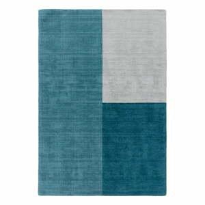 Modrý koberec Asiatic Carpets Blox, 120 x 170 cm