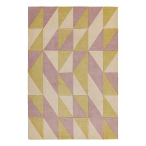 Ružovo-žltý koberec Asiatic Carpets Flag, 200 x 290 cm