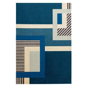 Modrý koberec Asiatic Carpets Riley Gerry, 160 x 240 cm