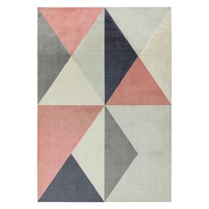 Ružovo-sivý koberec Asiatic Carpets Riley Carissa, 160 x 240 cm