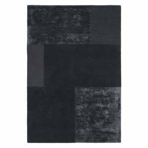 Antracitovosivý koberec Asiatic Carpets Tate Tonal Textures, 160 x 230 cm