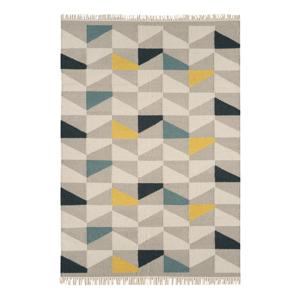 Koberec Asiatic Carpets Geo Mustard, 160 x 230 cm
