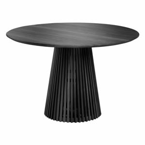 Čierny stôl La Forma Irune, ⌀ 120 cm