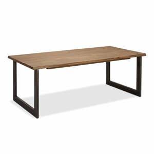 Jedálenský stôl s doskou z akáciového dreva Furnhouse Mallorca, 180 x 90 cm