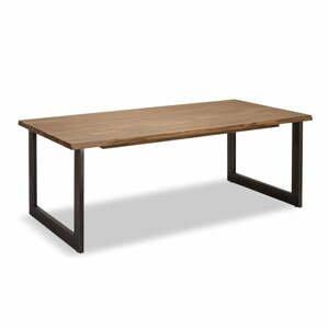 Jedálenský stôl s doskou z akáciového dreva Furnhouse Mallorca, 200 x 100 cm