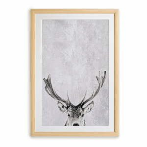 Nástenný obraz v ráme Surdic Deer, 35 x 45 cm