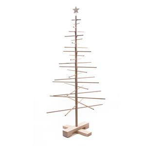 Drevený vianočný stromček Nature Home Xmas Decorative Tree, výška 125 cm
