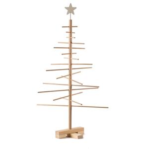 Drevený vianočný stromček Nature Home Xmas Decorative Tree, výška 75 cm