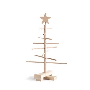 Drevený vianočný stromček Nature Home Xmas Decorative Tree, výška 45 cm
