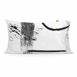 Súprava 2 bavlnených obliečok na vankúš Blanc Shapes, 50 × 75 cm