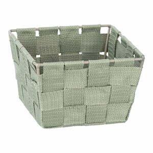 Zelený úložný box Wenko Adria, 14 x 14 cm