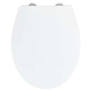 Biela toaletná doska Wenko Ostuni Easy Close