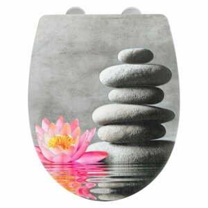 Toaletná doska Wenko Water Lily