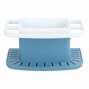 Modrý stojan na umývacie potreby Wenko Cosmo