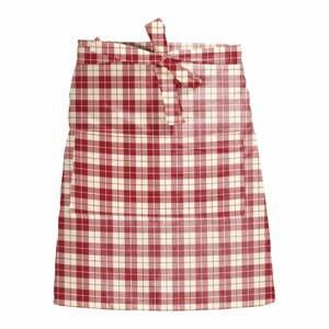 Látková zástera Linen Couture Delantal de Lino Cuadros