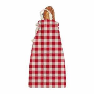 Látková taška na pečivo Linen Couture Linen Bread Bag Red Vichy