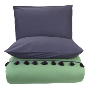 Sada zelenej obliečky na dvojlôžko Bella Maison Tanora, 200 x 220 cm