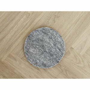 Oceľovosivá plstená podložka pod pohár z vlny Wooldot Felt Coaster, ⌀ 30 cm