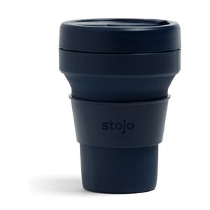Modrý skladací hrnček Stojo Pocket Cup Denim, 355 ml