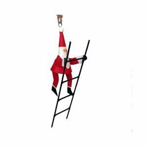 Vianočné dekorácie G-Bork Santa With Ladder