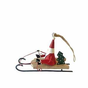 Vianočné dekorácie G-Bork Santa On Sled