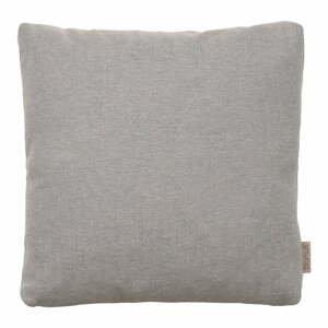 Sivohnedá bavlnená obliečka na vankúš Blomus, 45 x 45 cm