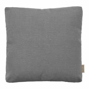 Sivý bavlnený poťah na vankúš Blomus, 45 x 45 cm