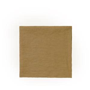 Žltý ľanový obrúsok Blomus, 42 x 42 cm