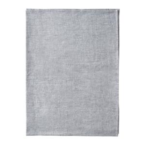 Sivý bavlnený behúň na stôl Blomus, 45 x 140 cm