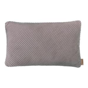 Ružovo-sivá bavlnená obliečka na vankúš Blomus, 50 x 30 cm