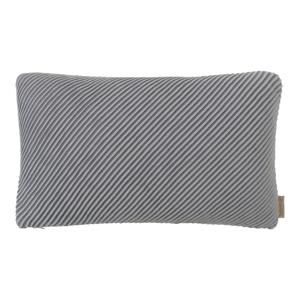 Sivá bavlnená obliečka na vankúš Blomus, 50x30cm