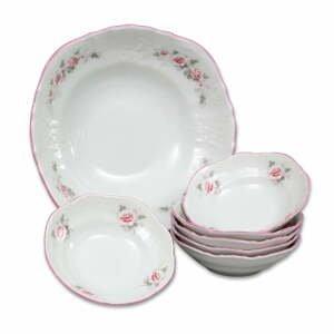 Sada porcelánových misiek s ružičkami Thun Bernadotte