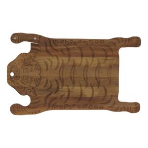 Drevená doštička na krájanie DOIY Tiger, 44 x 26 cm