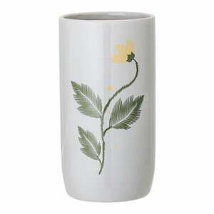 Biela váza z kameniny Bloomingville Laburnum