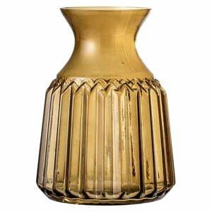 Hnedá sklenená váza Bloomingville Judy